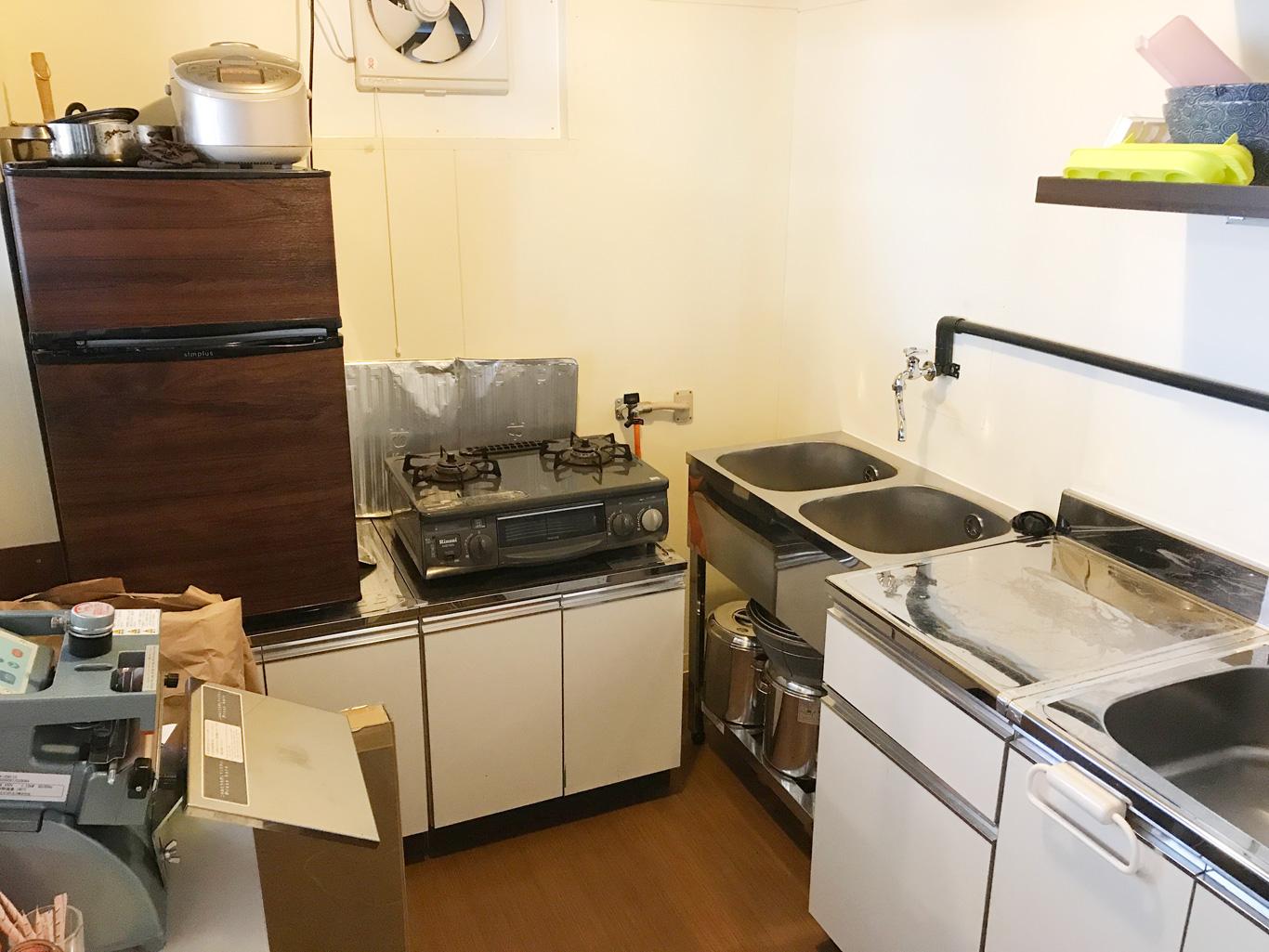 惣菜製造業の許可のあるキッチンスペース